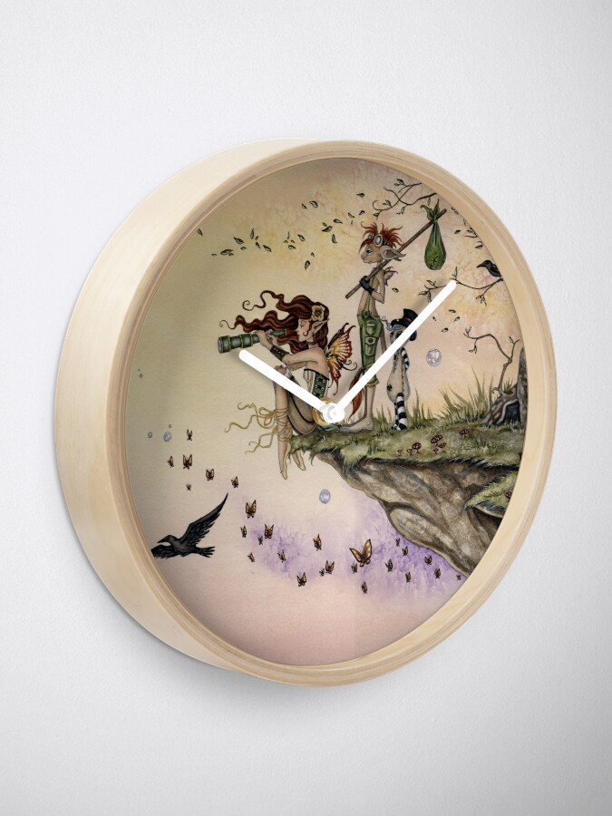 Alternate view of Where The Wind Takes You Clock