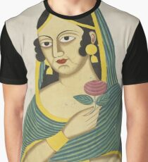 Indian Lady Graphic T-Shirt