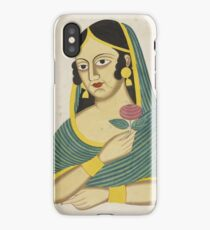 Indian Lady iPhone Case