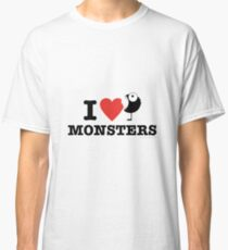 I love monsters Classic T-Shirt