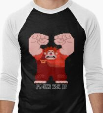 Wreck-It Ralph - Gonna Wreck It! Men's Baseball ¾ T-Shirt