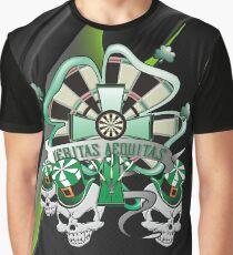 Veritas Aequitas Darts Shirt Graphic T-Shirt