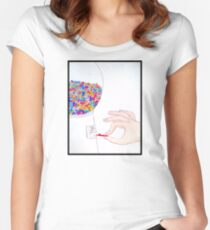 People Machine Women's Fitted Scoop T-Shirt