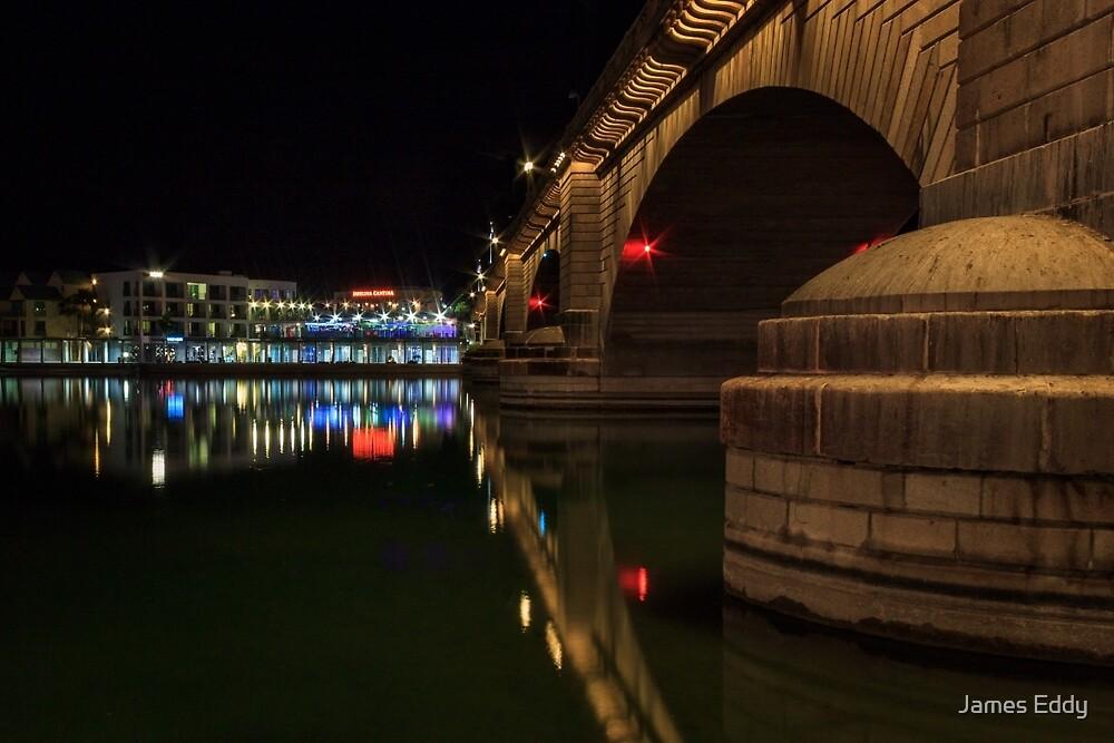 Reflections At London Bridge by James Eddy