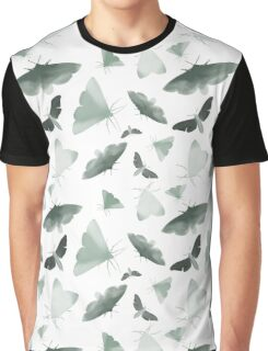 Watercolor Moths Graphic T-Shirt