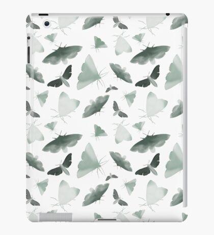 Watercolor Moths iPad Case/Skin