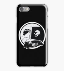 Two Faced  iPhone Case/Skin
