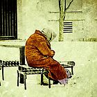 """""""Old. Cold. Alone.""""... prints and products by © Bob Hall"""
