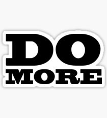 Do More Sticker