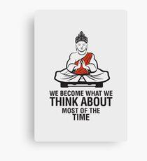 Buddah Meditation Canvas Print