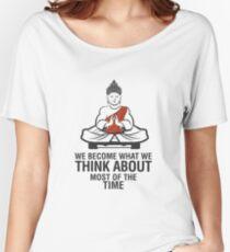 Buddah Meditation Women's Relaxed Fit T-Shirt