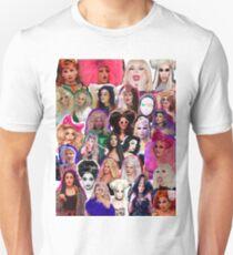 Drag Queens Collage Unisex T-Shirt