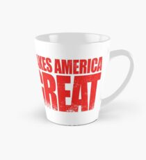 Love NOT HATE makes America GREAT Tall Mug