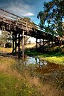 The Ellerslie Bridge, Over Letts Ford by Christine Smith