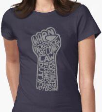 Camiseta entallada Cuando la injusticia se convierte en ley ...