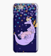 Navy Figment epcot confetti iPhone Case/Skin