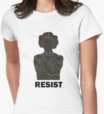 Princess Leia - Resist Women's Fitted T-Shirt
