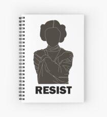 Princess Leia - Resist Spiral Notebook