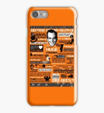 The Wise Words of GOB iPhone Case/Skin