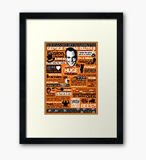 The Wise Words of GOB Framed Print
