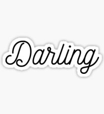 Darling Sticker