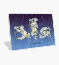 Australian Koala Yoga Positions 2 Laptop Skin