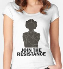 Princess Leia - Join the Resistance Women's Fitted Scoop T-Shirt