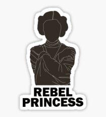 Princess Leia - Rebel Princess Sticker