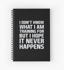 Reason to Train Spiral Notebook