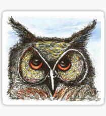Anni's Owl Sticker