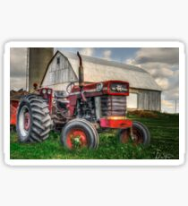 Farm Scene Painting Sticker