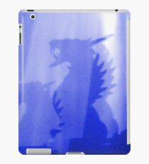 Angry Blue Ice Dragons iPad Case/Skin