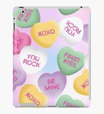 Valentine Candy Hearts iPad Case/Skin