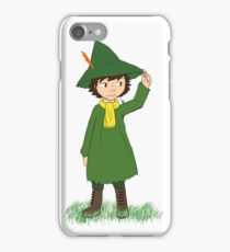 Snufkin from Moomins iPhone Case/Skin