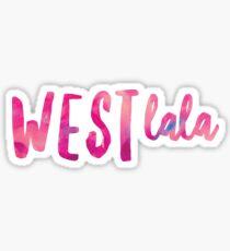 West LaLa Sticker