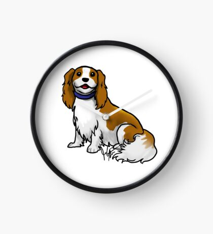 King Charles Cavalier Terrier Clock