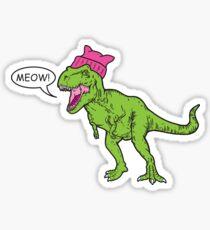 Pussy Hat Rex Sticker