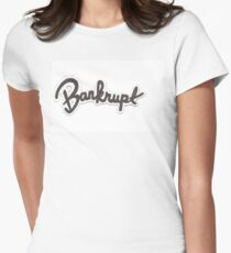 Bankrupt Garage Women's Fitted T-Shirt
