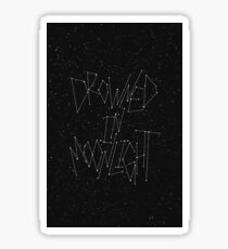 drowned in moonlight Sticker