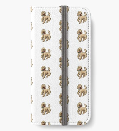 Poodle Brown iPhone Wallet