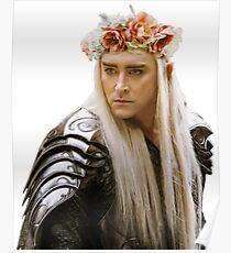 Flower Crown Thranduil Poster