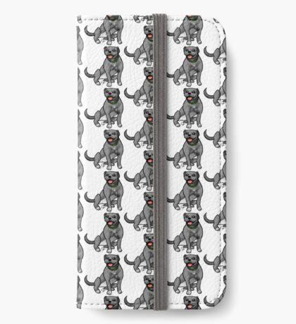 Pitbull - Gray iPhone Wallet