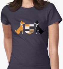 Basenji (Coat of Arms) Womens Fitted T-Shirt