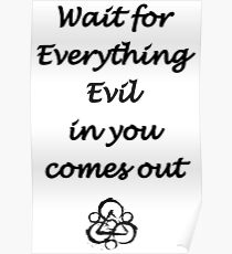 Everything Evil Poster