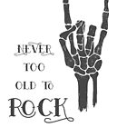 Never too old to Rock! by Laura-Lise Wong