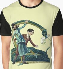 A Series Of Unfortunate Events Reptiles Graphic T-Shirt