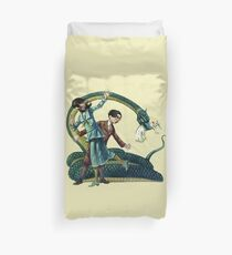 A Series Of Unfortunate Events Reptiles Duvet Cover
