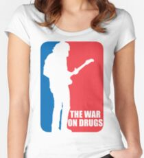 The War On Drugs - Major League Shirt Women's Fitted Scoop T-Shirt