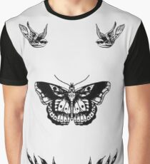 Harry Styles Tattoo Set Graphic T-Shirt