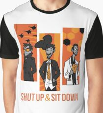 Shut Up and Sit Down Graphic T-Shirt